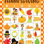 Free Printable Thanksgiving Bingo Cards   Happiness Is Homemade