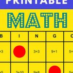 Free Printable: These Math Bingo Cards Can Help You Teach
