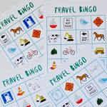 Free Printable Travel Bingo Game   Vakantie