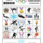 Free Printable Winter Olympic Bingo