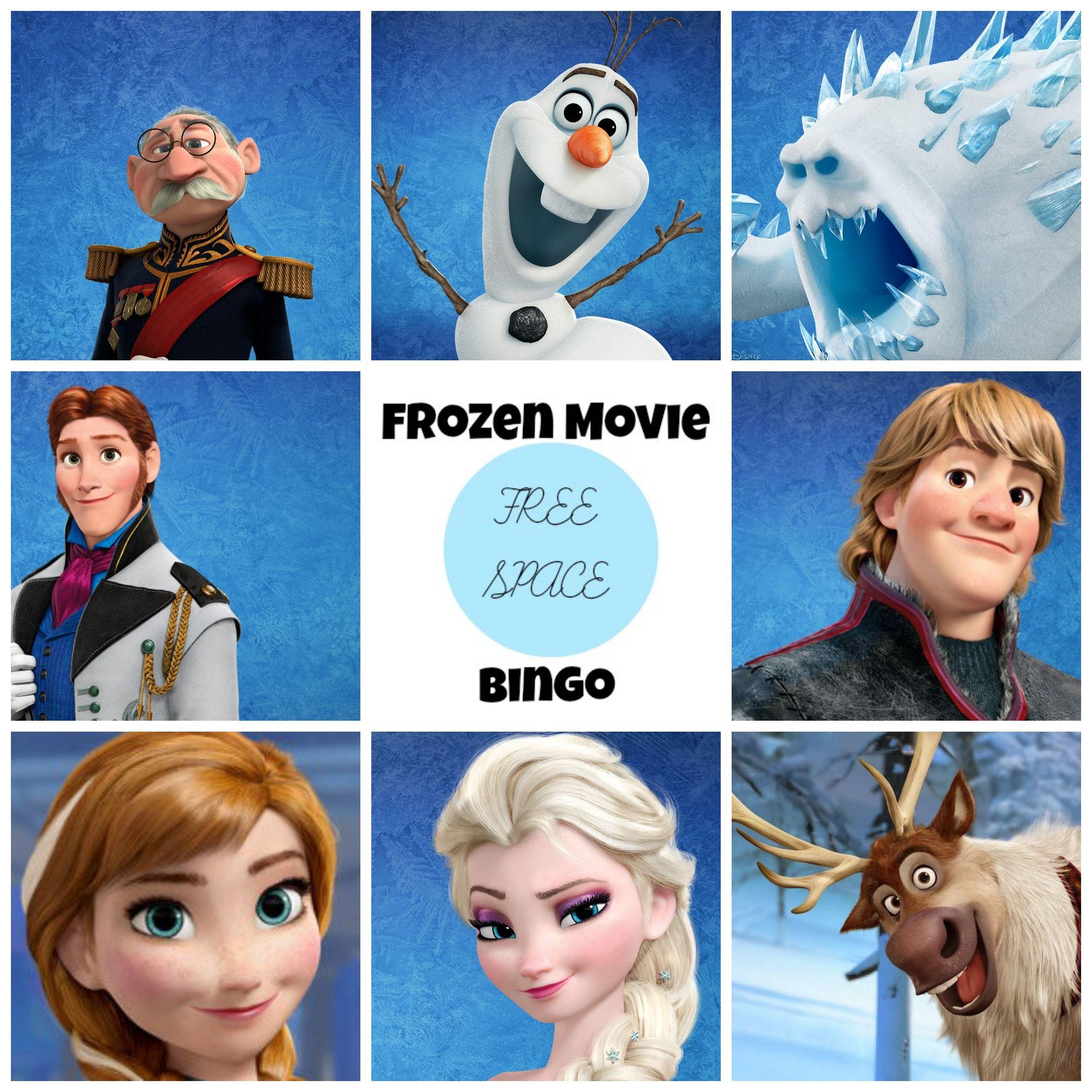 Frozen Dvd Free Frozen Movie Bingo Game Printable | Disney