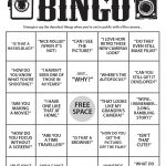 "Game Time: Play Film Photography ""stranger Danger"" Bingo"