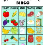 Grocery Store Bingo! | Preschool Food, Food Groups For Kids