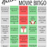 Hallmark Movie Bingo  Free Printables! | Christmas Movie