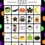 Halloween Bingo   Cute Free Printable Game   Halloween