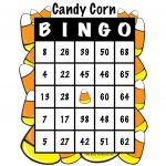 Halloween Candy Corn Bingo | Candy Corn, Colorful Candy, Candy