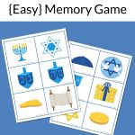 Hanukkah Memory Game Free Printable | Hanukkah For Kids