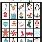 Holiday Bingo Card Printable For Kids | Christmas Bingo