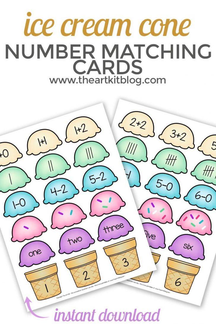 Free Printable Ice Cream Bingo Cards