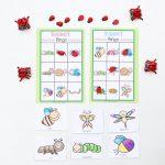 Insect Printable Bingo Game For Kids   Fun With Mama