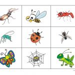 Insects Bingo Game   English Esl Worksheets For Distance