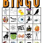 Kids Halloween Party Bingo Cards Free Printable | Halloween