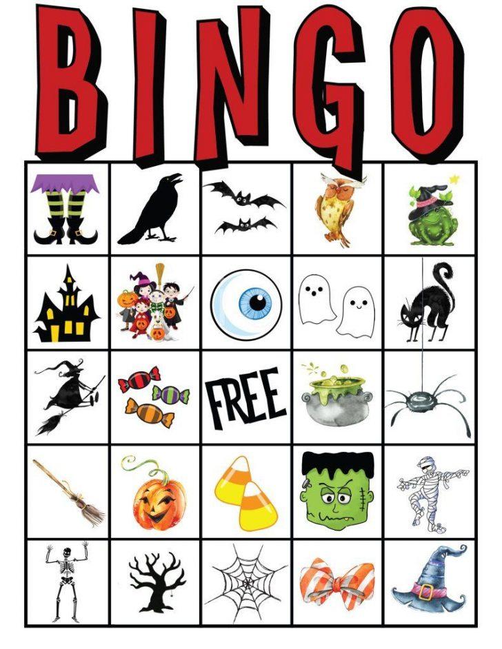Halloween Bingo Cards Free Printable