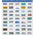 License Plate Game1 (2544×3296) | Travel Games, Road