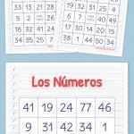 Los Números Bingo | Free Printable Bingo Cards, Bingo Cards