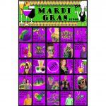 Mardi Gras Bingo   30 Cards   Mardi Gras People Watching