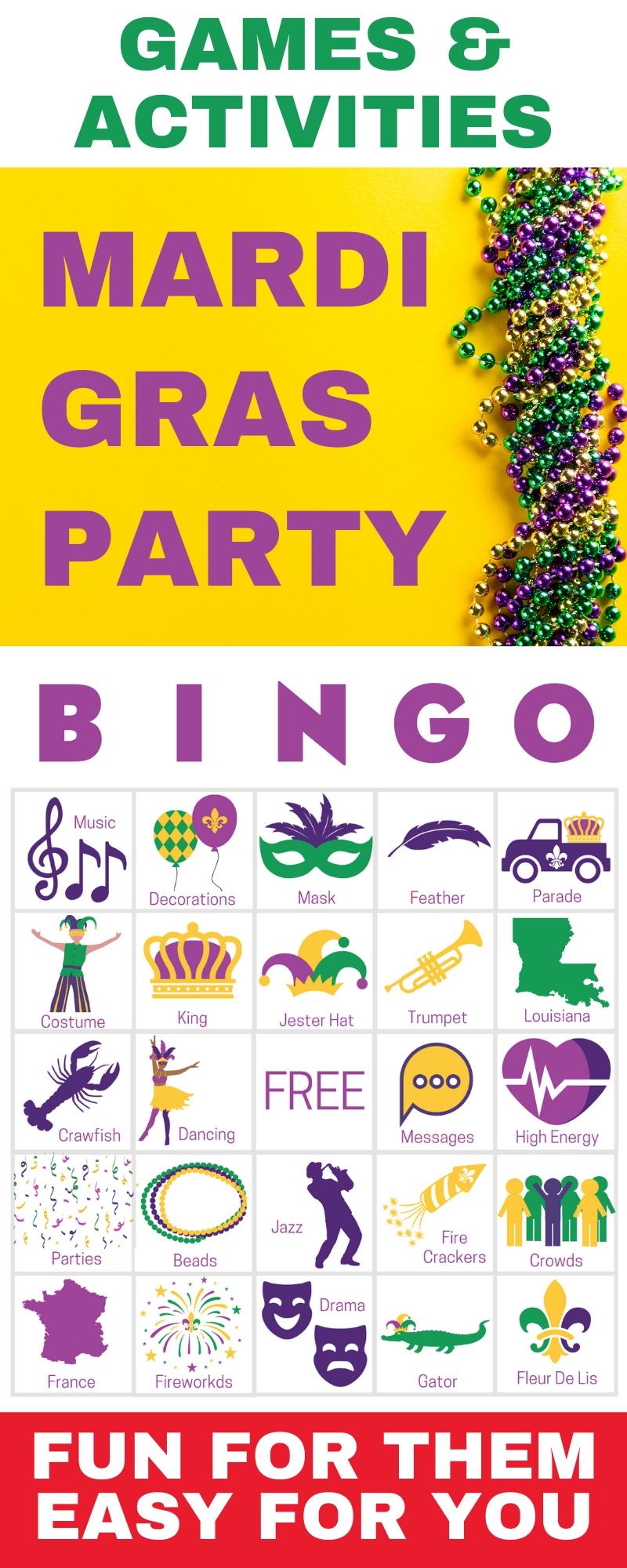 Mardi Gras Party Games - Easy, Modern & Hilarious Fun