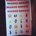 Mario Bingo Cards | Super Mario Bros Birthday Party, Super