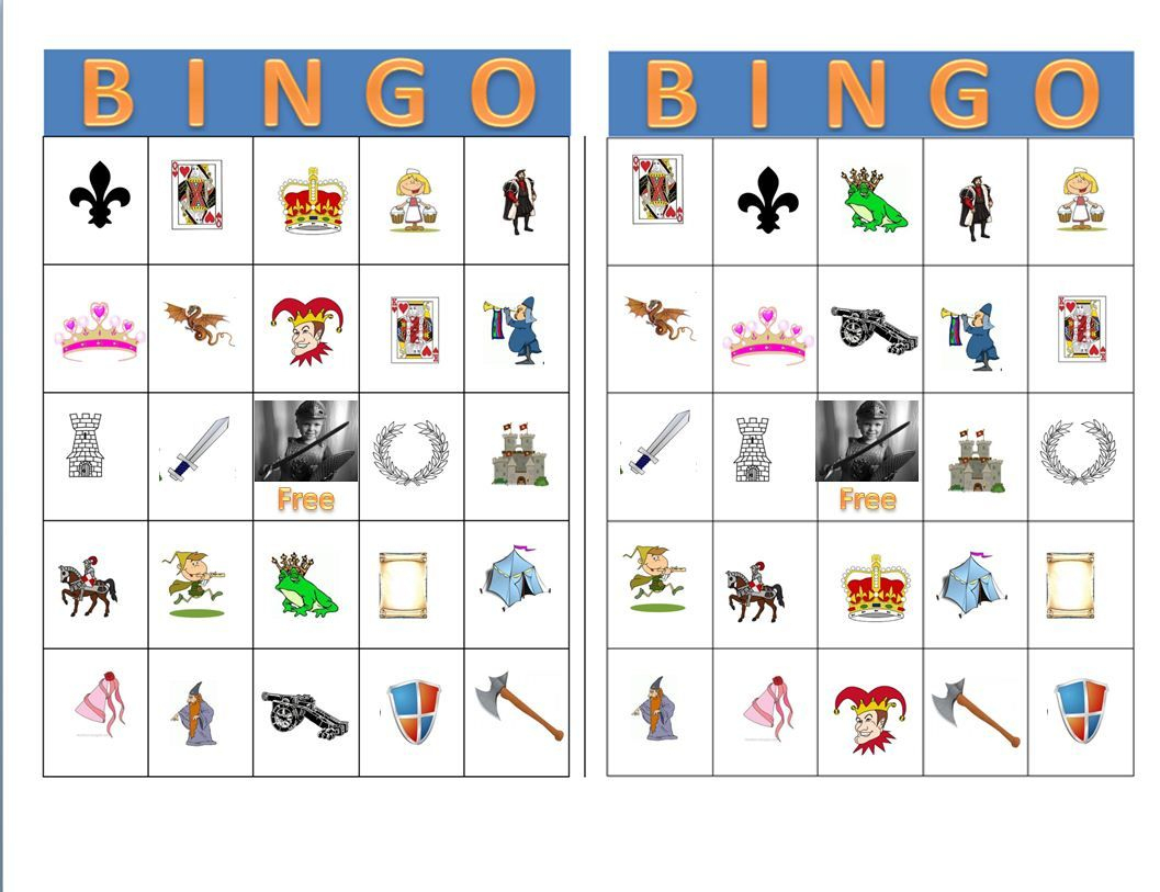 Medieval Bingo! A Big Hit With The Children And Adults
