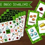 Members Freebies Page   Creative Little Parties | Minecraft