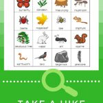 Nature Bingo Printable Activity   Take A Hike With Your Kids