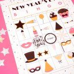 New Year's Eve Bingo Printable   Happiness Is Homemade