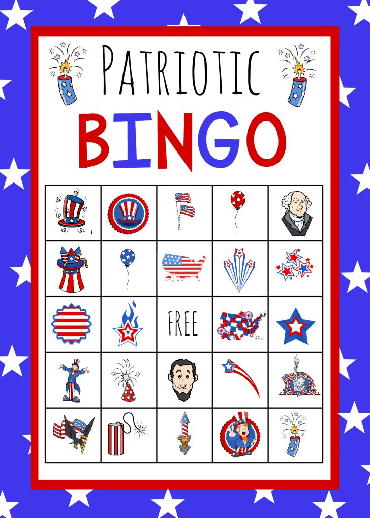 Free Printable Memorial Day Bingo Cards