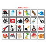 Pirate Bingo Game   Kid's Printable Bingo Game   Bingo Game