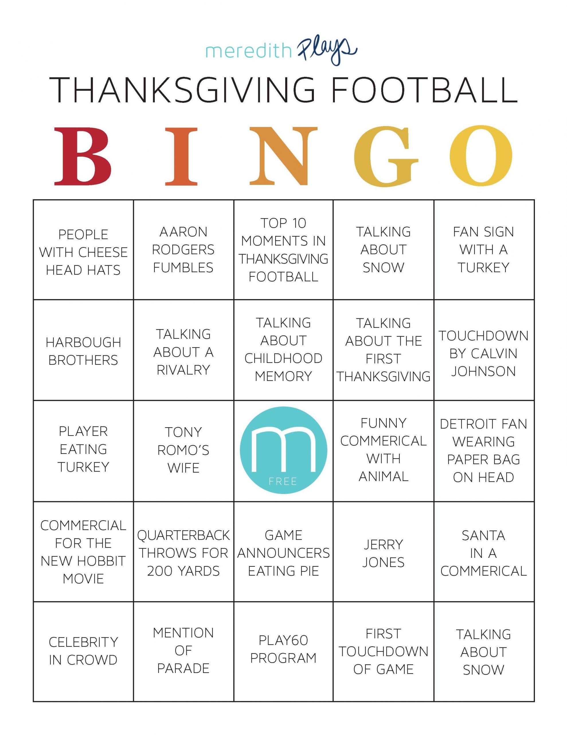 Print Out This Series Of Bingo Cards To Get Everyone