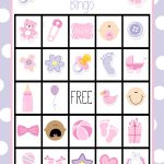 Printable Baby Shower Bingo Cards   Ideeën Voor Babyshowers
