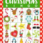 Printable Christmas Bingo Game   Happiness Is Homemade