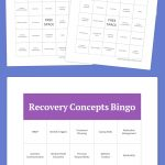 Recovery Concepts Bingo (With Images) | Bingo Card Generator