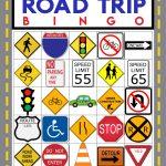 Road Trip Bingo Game   Free Printable   Happiness Is Homemade
