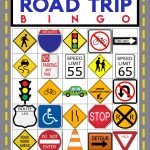 Road Trip Bingo Game   Free Printable   Happiness Is Homemade