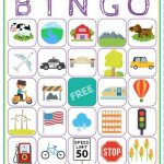 Road Trip Bingo Printable Game   Free Download Of 6 Travel