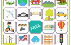 Road Trip Bingo Printable Game – Free Download Of 6 Travel