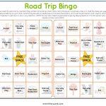 Road Trip Bingo Printable | Road Trip Bingo, Road Trip