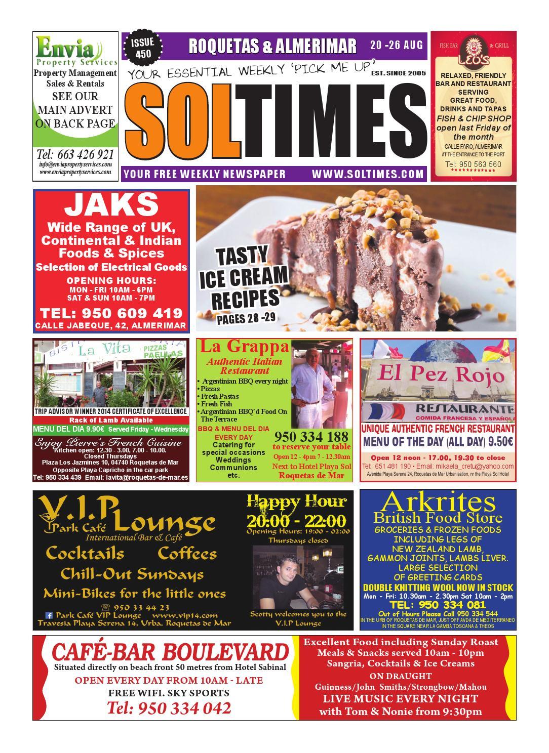 Roquetas 450Sol Times - Issuu
