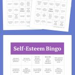 Self Esteem Bingo | Bingo Cards Printable, Free Printable