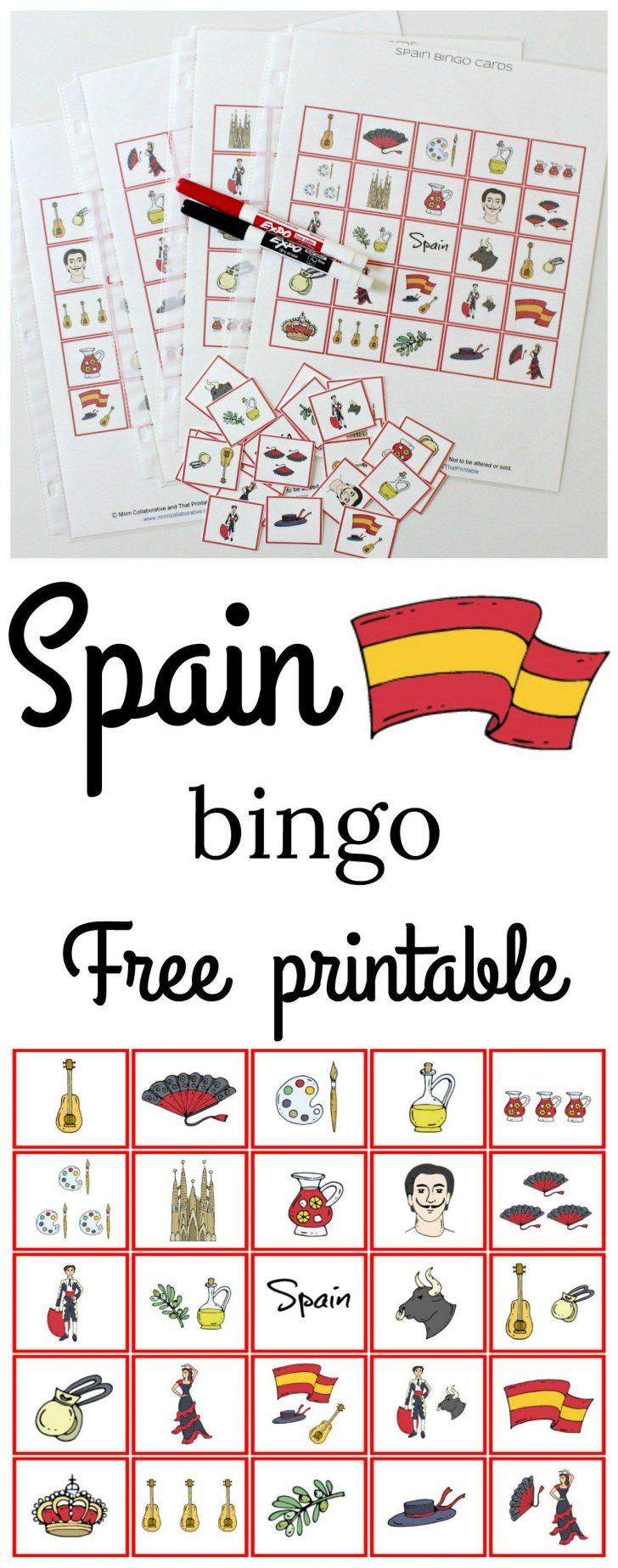 Free Printable Geography Bingo Cards