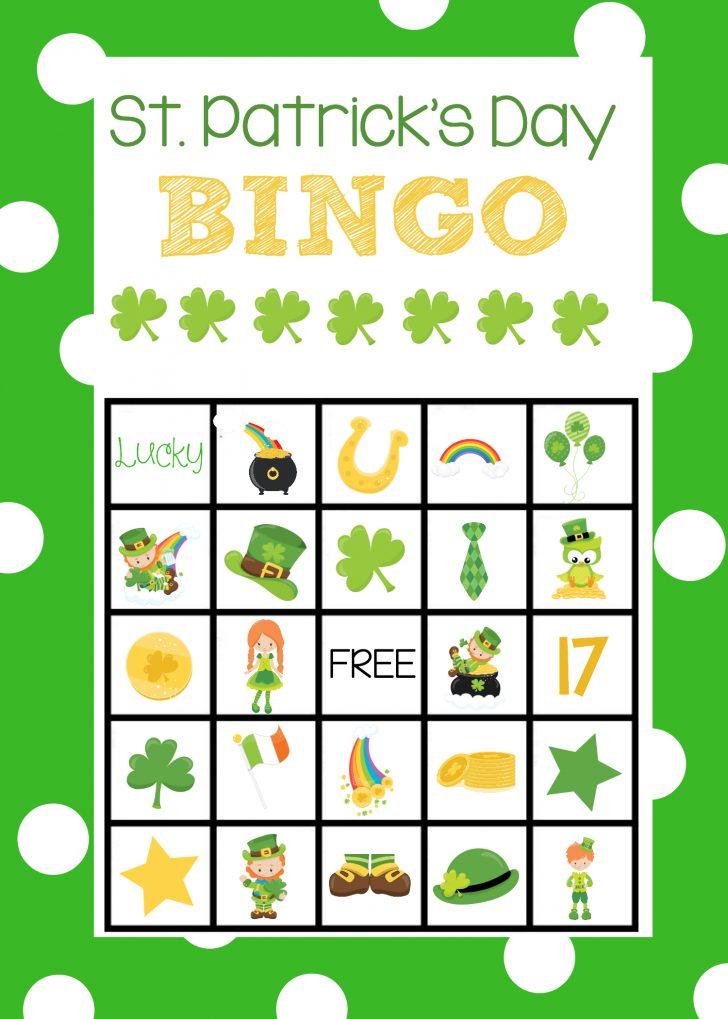 Free Printable St Patrick's Day Bingo Cards
