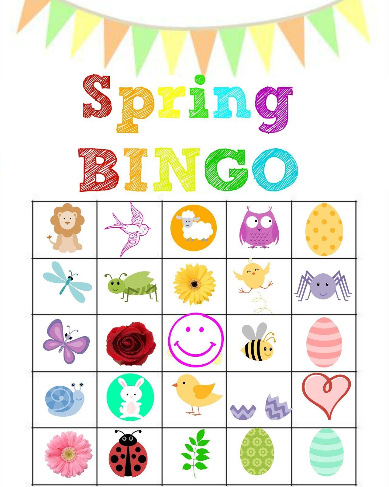 Stronger Than The Average Mom: Spring Bingo Printables