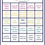 Summer Reading Bingo: Summer Ideas For Kids & Families
