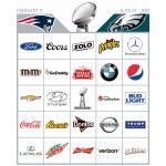 Super Bowl 52 Commercial Bingo