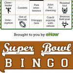 Super Bowl Bingo!! Perfect For Anyone Who Wants To Have Fun