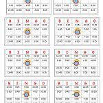 Telling Time Bingo   English Esl Worksheets For Distance