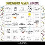 The Burning Man Bingo Card   The Bold Italic