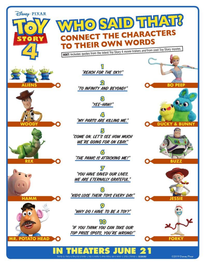 Toy Story Party Printables {Free} - This Worthey Life - Food