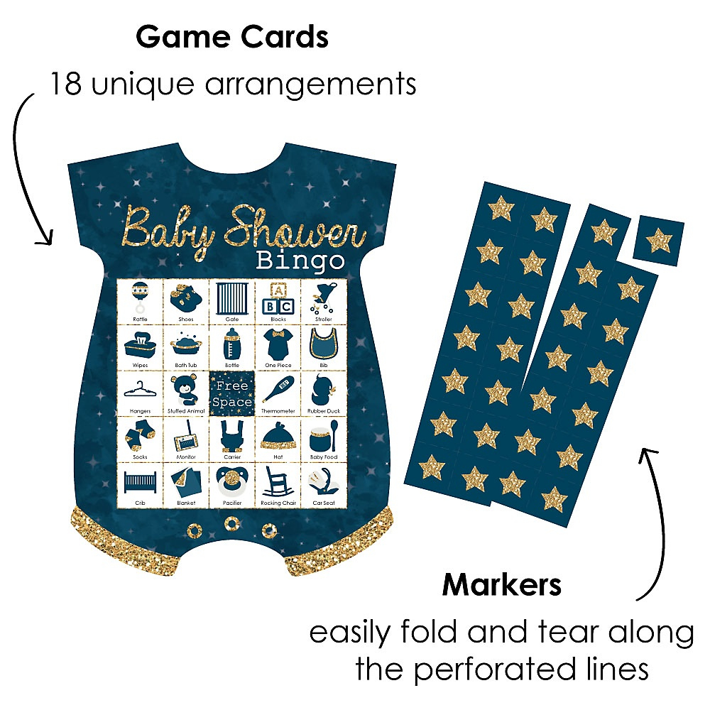Twinkle Twinkle Little Star - Picture Bingo Cards And
