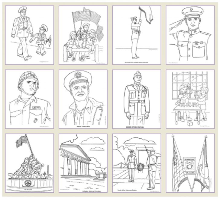 Free Printable Veterans Day Bingo Cards